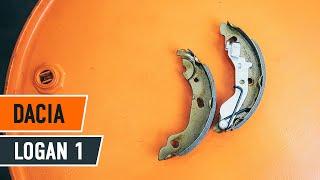 Ako vymeniť zadné brzdové platničky na DACIA LOGAN 1 NÁVOD | AUTODOC