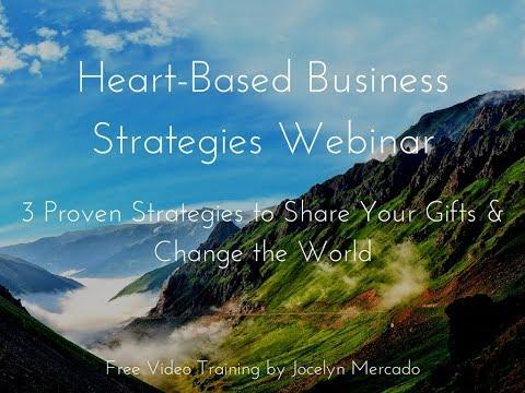 Heart Based Business Strategies Webinar