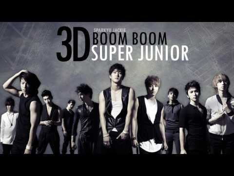 [3D \ Use Headphones] Super Junior _ BOOM BOOM