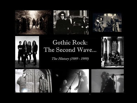 Gothic Rock ~ The Second Wave (1989 - 1999)