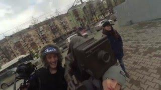 """Пермь. Клуб """"Атмосфера"""" - По батутам"""