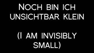 Oomph! - Ich Bin Der Weg Lyrics with English Translation