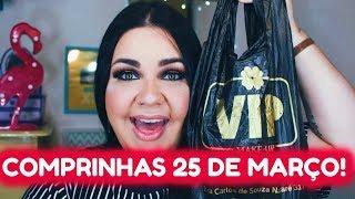 COMPRINHAS FASHION E VIP MAKEUP! 25 DE MARÇO ♥