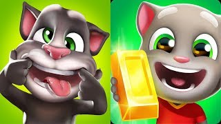 Talking Tom Gold Run vs My Talking Tom Android Gameplay 2019