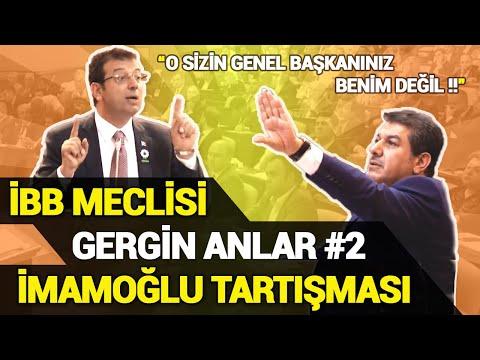İBB Meclisi Gergin Anlar - İmamoğlu - AKP Grubu Erdoğan Tartışması