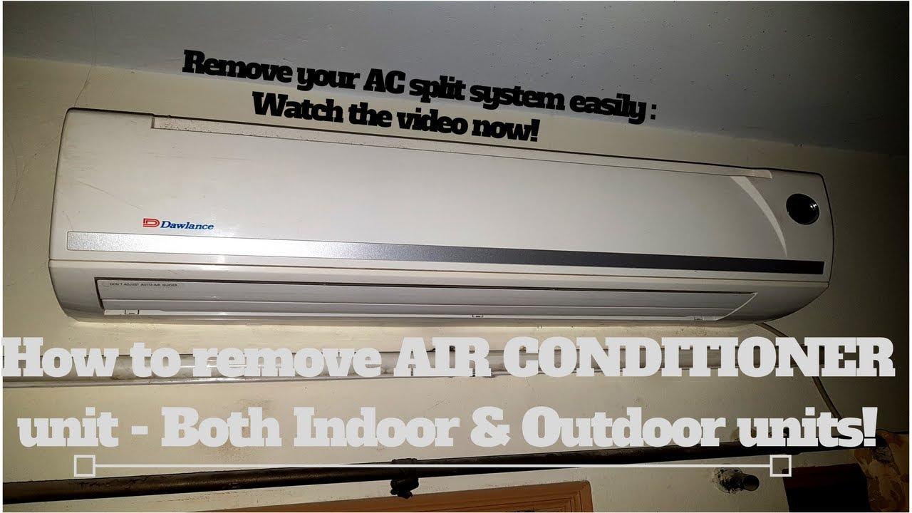 medium resolution of how to remove air conditioner unit