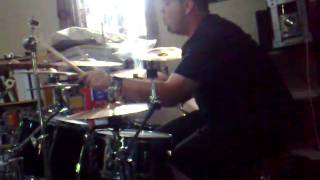 Master of Puppets drum cover snippet..