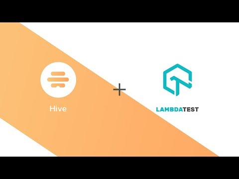 LambdaTest + Hive Integration   One Click Bug Logging