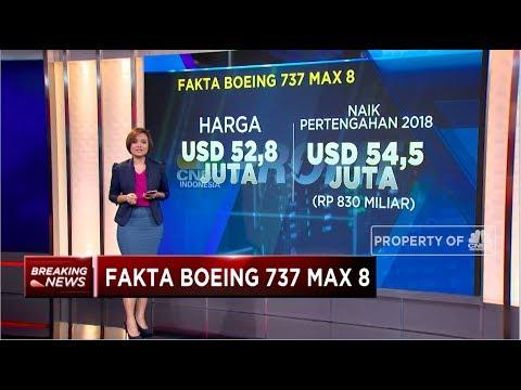 Inilah Fakta Boeing 737 Max 8 yang Jatuh di Sekitar Karawang