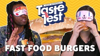 Fast Food Chain Burgers 🍔 TASTE TEST