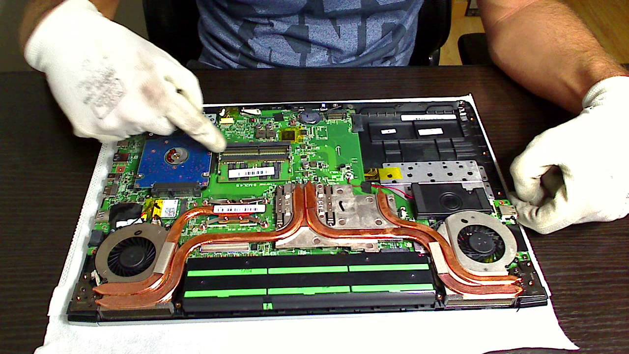 Cómo instalar un disco SSD M2SATA en un ordenador portátil ...