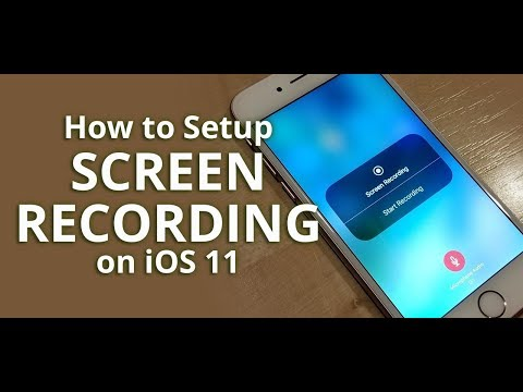 iOS 11 Tips: How to setup screen recording for iPhone and iPad with or without audio / mic