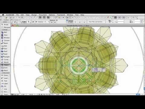 Classics modeled in ArchiCAD – The Sagrada Familia – Passion Towers [hi-speed]
