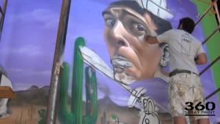 belin & koka 360 spray paint 2012 trailer