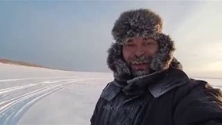 Экстремальная Рыбалка на Севере.28.01.2019