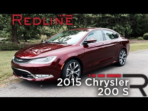 2015 chrysler 200 s redline first drive youtube. Black Bedroom Furniture Sets. Home Design Ideas