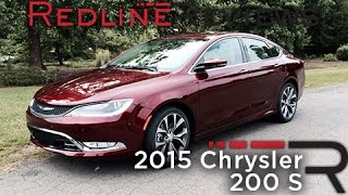 Redline First Drive: 2015 Chrysler 200 S