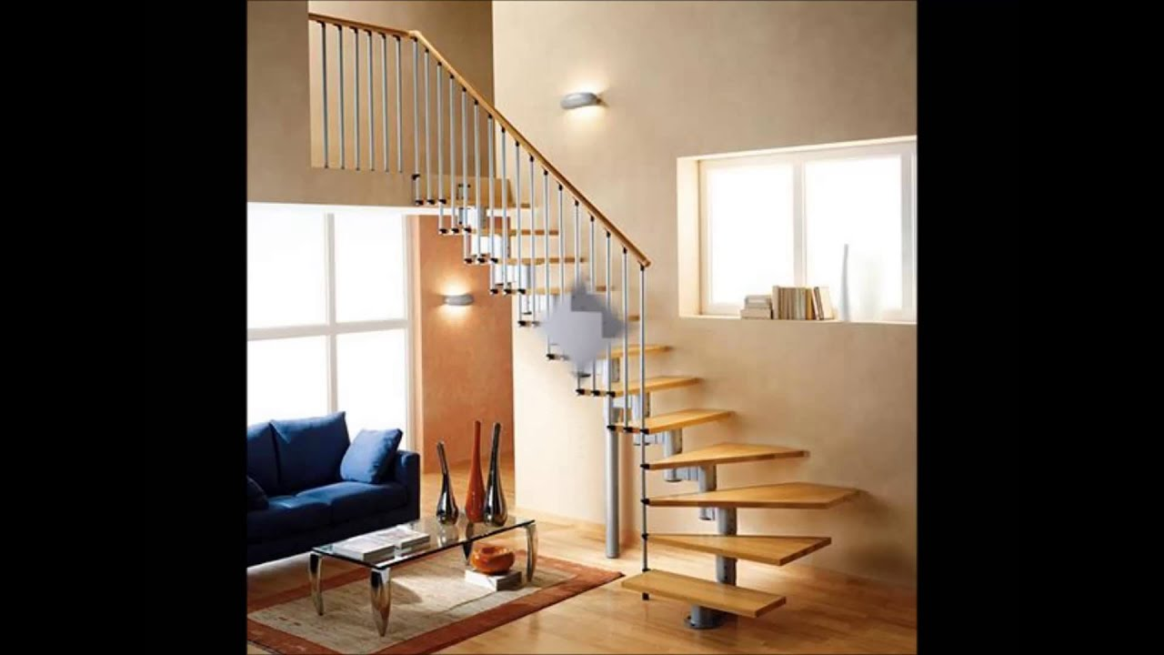 Escaleras de lujo youtube for Escaleras metalicas para interiores de casas