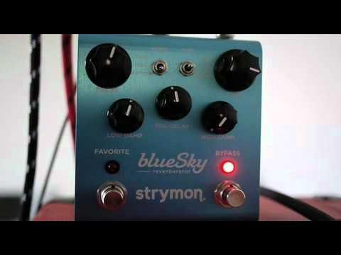 strymon blue sky reverberator demo youtube. Black Bedroom Furniture Sets. Home Design Ideas