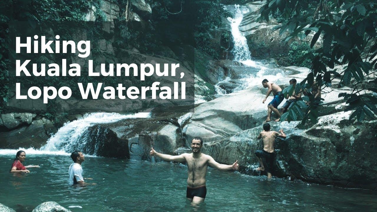 Lopo Waterfall Hulu  Langat  Malaysia YouTube