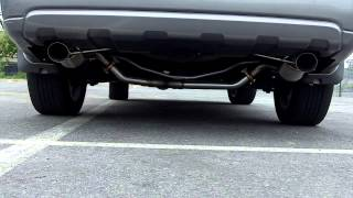 2005 subaru outback xt 5mt with nameless performance turboback exhaust