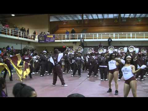 Alabama A&M University Band 2011 - Ricky Smiley Morning Show
