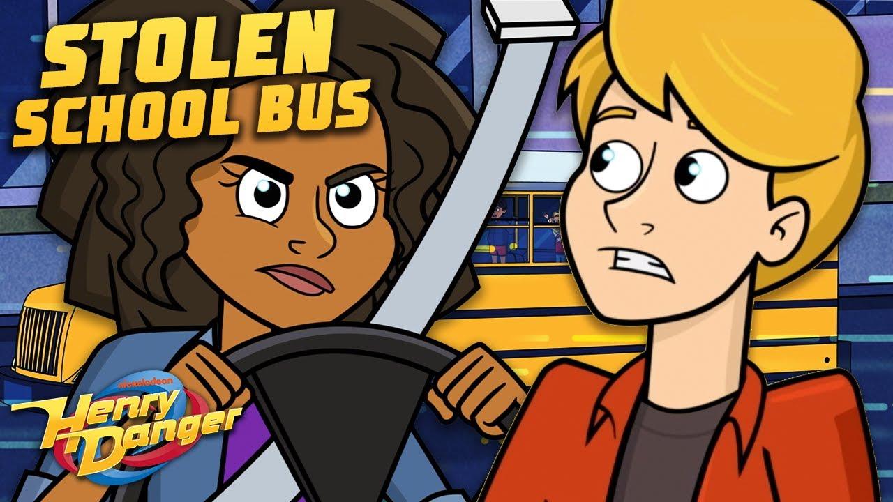 The Adventures of Kid Danger: Stolen School Bus!   Henry Danger