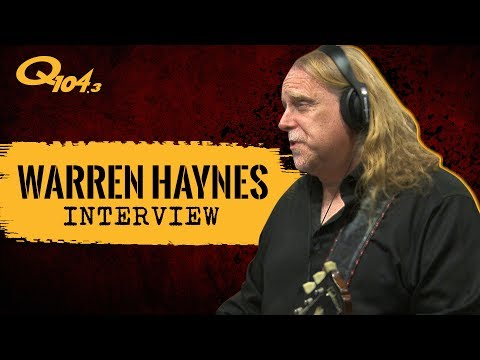 Warren Haynes Performs New Gov't Mule Songs Live in Studio