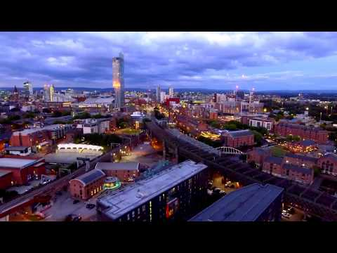 DJI Phantom 4 - Manchester Day & Night