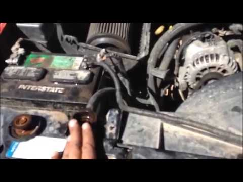 how to change a bypass hose on a 1998 to 2002 chevy or gmc