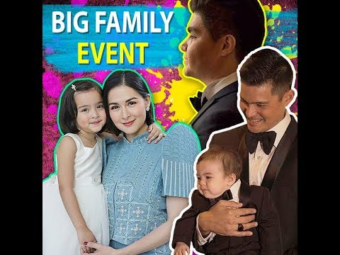 Big family event - KAMI - Super stylish Zia and Ziggy stole everyone's hearts at Dingdong Dantes - 동영상