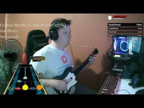 Clone Hero: Joe Perry Guitar Battle 125% (100% FC)