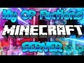 MY OP FACTIONS MINECRAFT SERVER RESET (FREE OP TOP RANK GIVEAWAY) 1.8/1.9/1.12.2/1.13.1 2018 [HD]