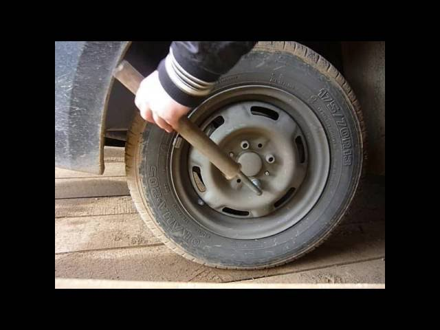 Как поменять передние тормозные колодки на Лада Гранта, Приора, Калина, а так же на Ваз 2109-2114