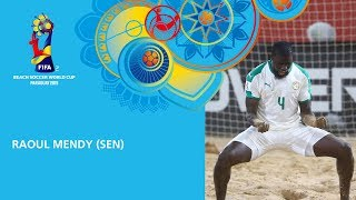 Mendy v Belarus [GOAL OF THE TOURNAMENT] - FIFA Beach Soccer World Cup, Paraguay 2019