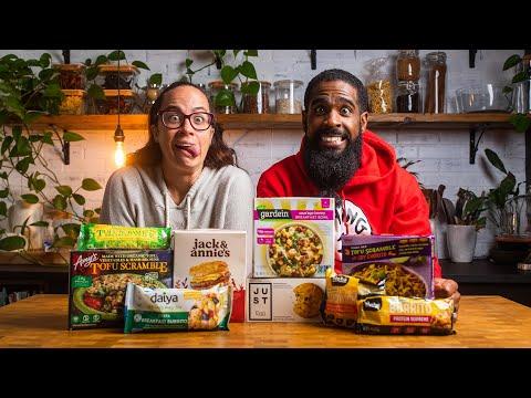 Vegan Frozen Breakfast Options Taste Test