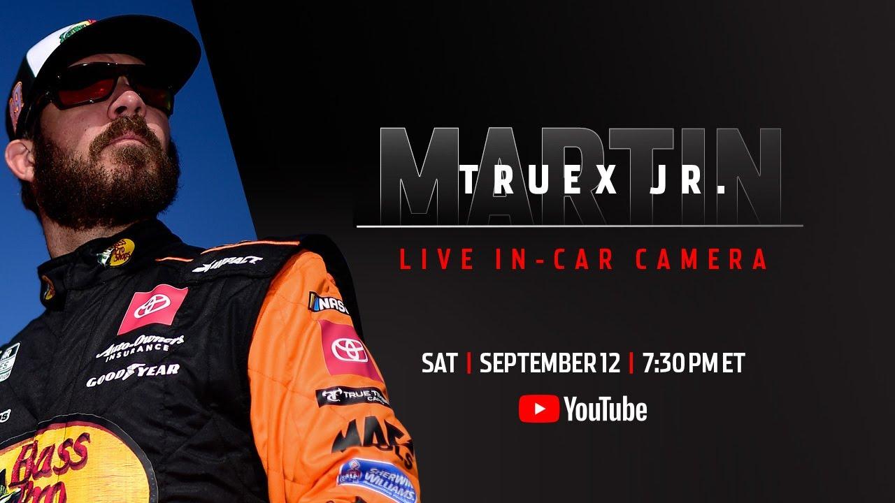 LIVE  Martin Truex Jr.'s in-car camera | NASCAR at Richmond Raceway