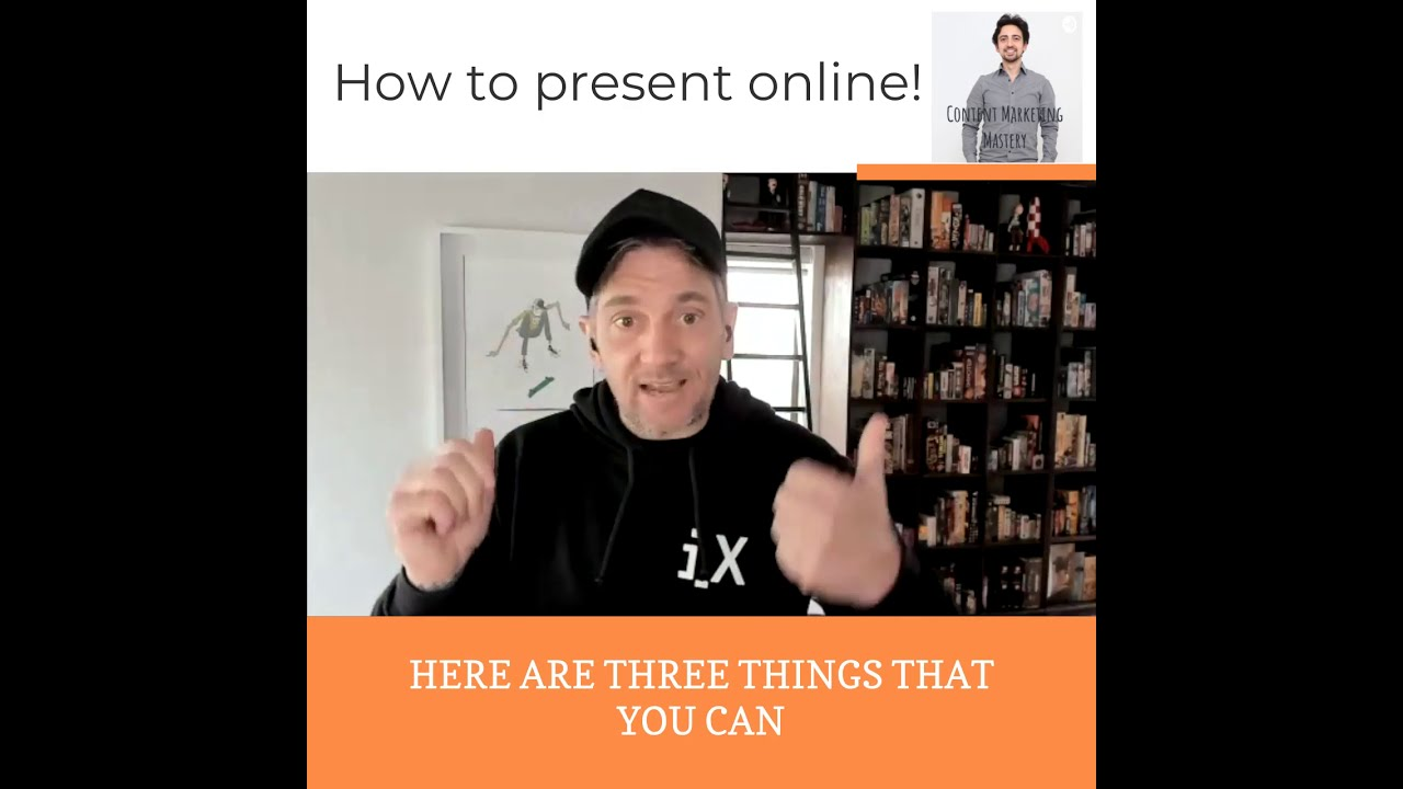 Key mistakes that speakers make when they present online
