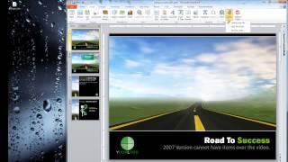 Saving a PowerPoint Presentation as a Video