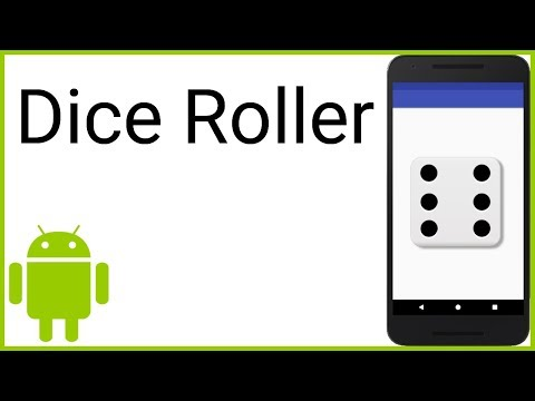 Dice Roller (With Code And Image Files) - Android Studio Tutorial