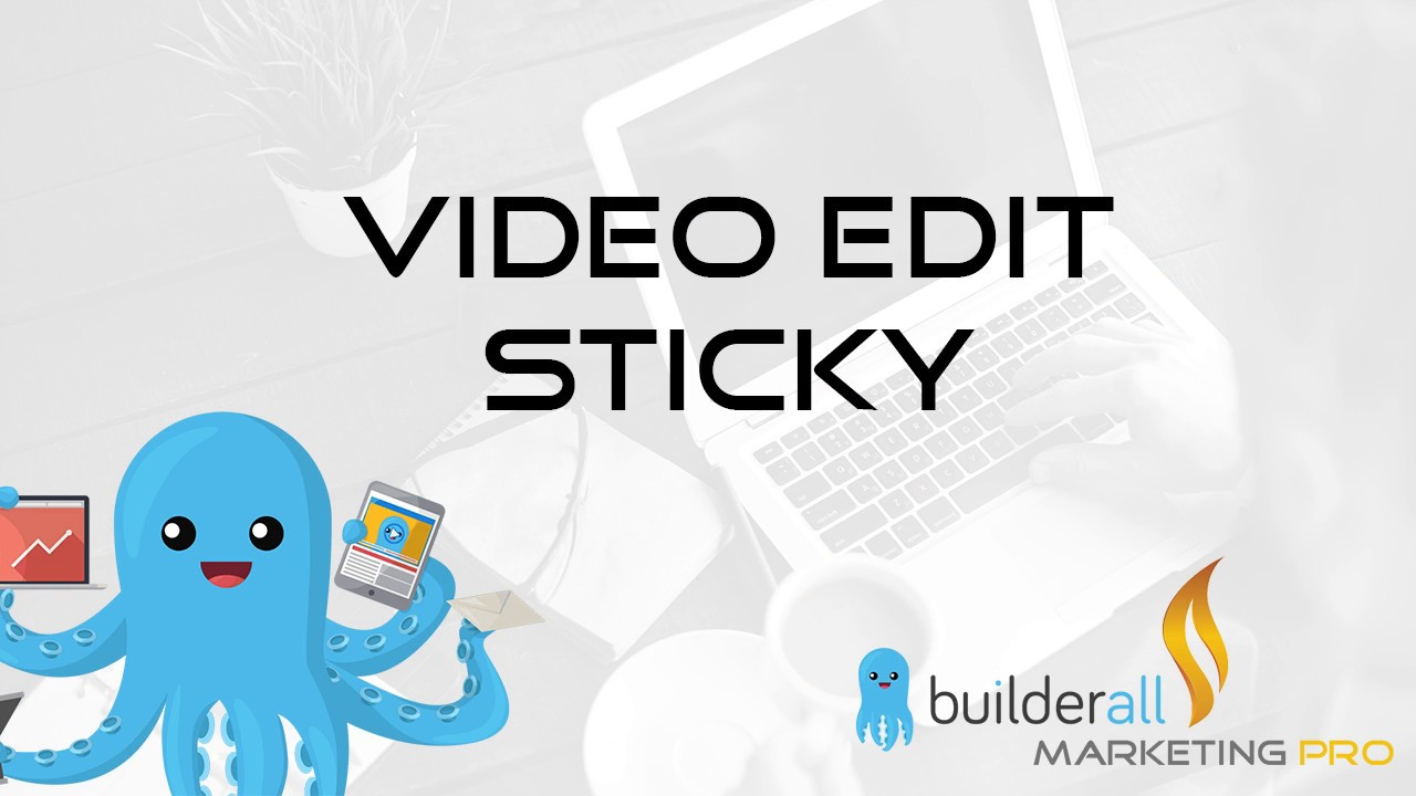 video edit sticky - Come Creare un anteprima video che scorre