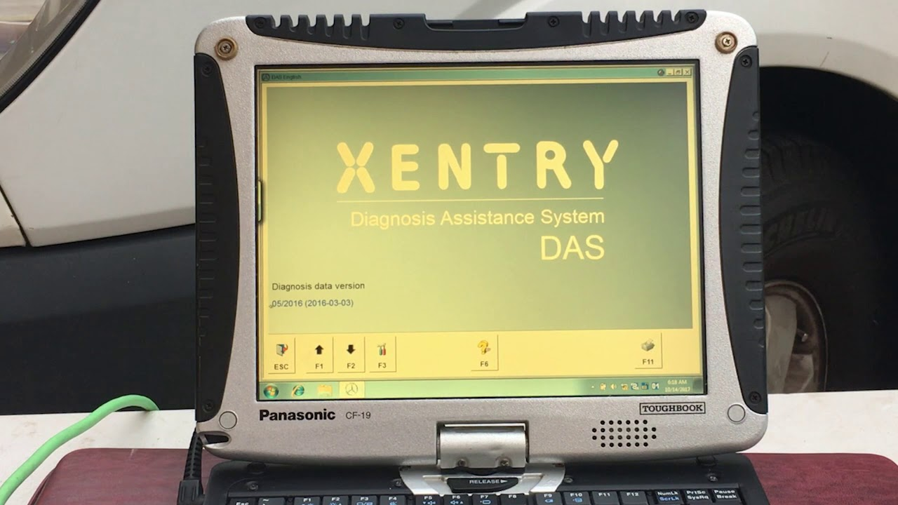 MB Star C4 SD Connect works with any Mercedes Xentry Diagnostics Compact