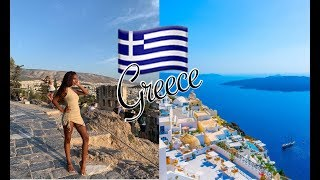 GREECE TRAVEL VLOG- Athens & Mykonos- DREAM TRIP