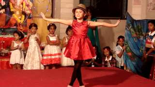 children dances: itti si hasi dance by nishma sovani