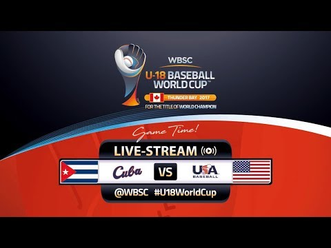 Cuba v USA - WBSC U-18 Baseball World Cup 2017