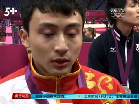 2012伦敦奥运-冯喆赛后泪谈滕海滨