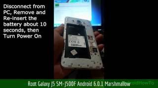 Root Galaxy J5 SM-J500F Android 6.0.1 Marshmallow