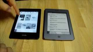 Quick side by side review - Kindle Paperwhite versus Kindle Touch - Should you upgrade?