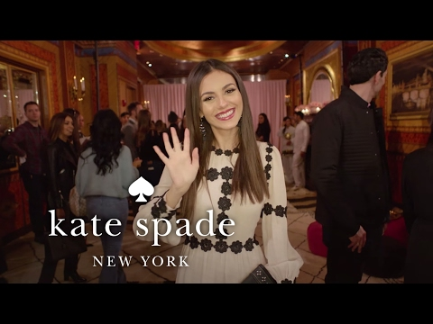 victoria justice hosts the new york fashion week shop it live experience | kate spade new york