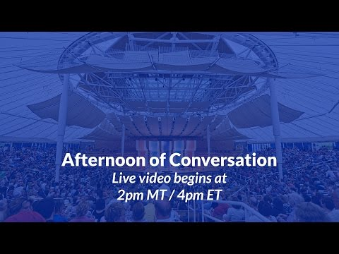 Full Session: Aspen Ideas Festival 2015: Afternoon of Conversation